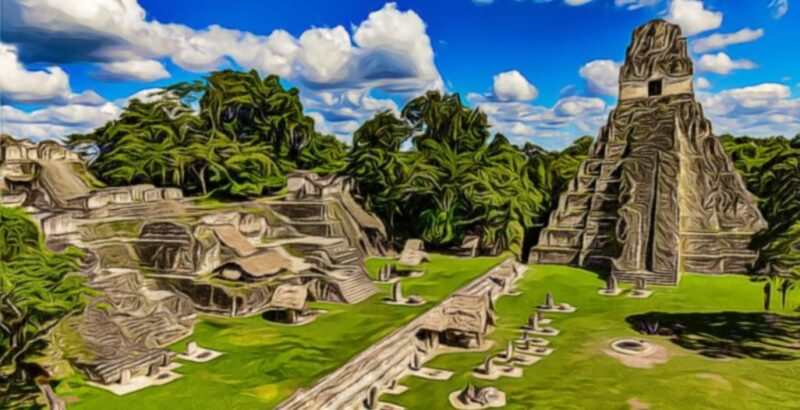 Pirámide ubicada en mesoamérica méxico